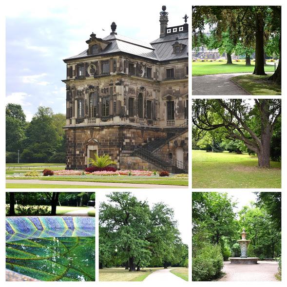Velká zahrada  (Grosser garten) je jednou z největších zelených ploch v Evropě.