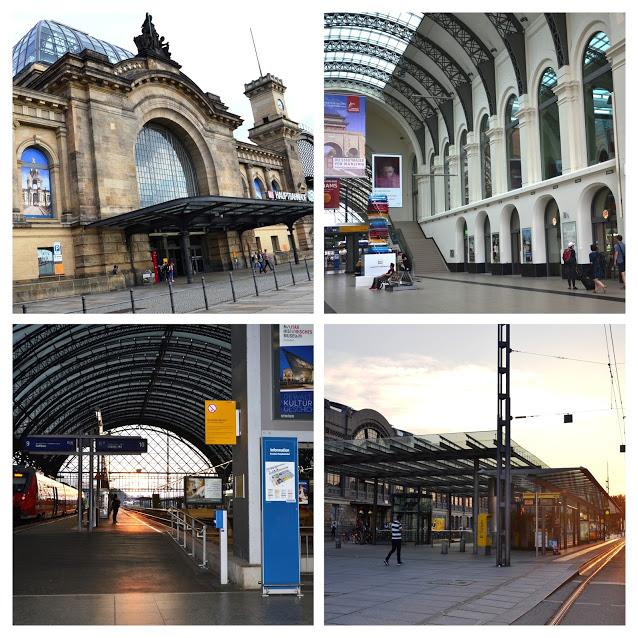 Vlakové nádraží Hauptbahnhof